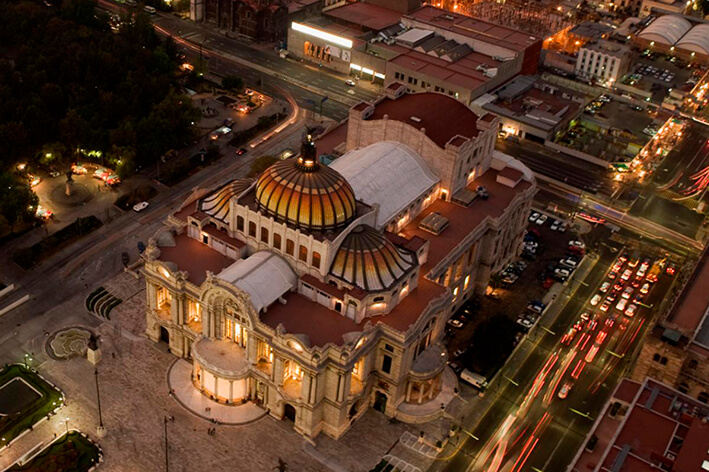 palacio bellas artes mexico mitiquete
