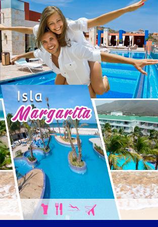 Isla margarita 8D 7N banner mitiquete